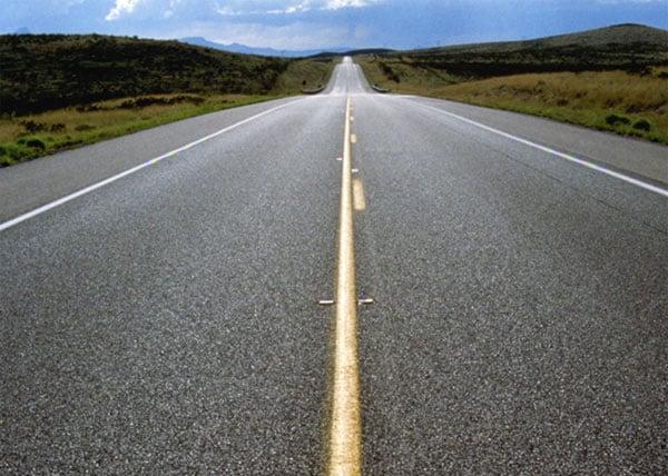 Straßenverlauf