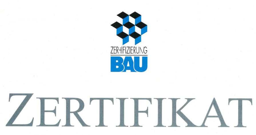 Zertifizierung Bau für die Franz Schimmer GmbH in Buxheim
